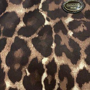 Coach Bags - Coach leopard makeup bag
